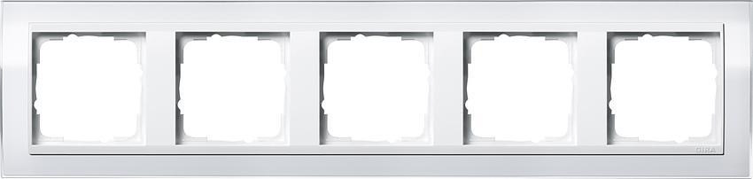 rahmen event klar system 55 gira schalter steckdosen steckdosen24. Black Bedroom Furniture Sets. Home Design Ideas