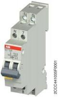 ABB E211X-16-20 Ausschalter 2 Schließer mit LED 250V 16A