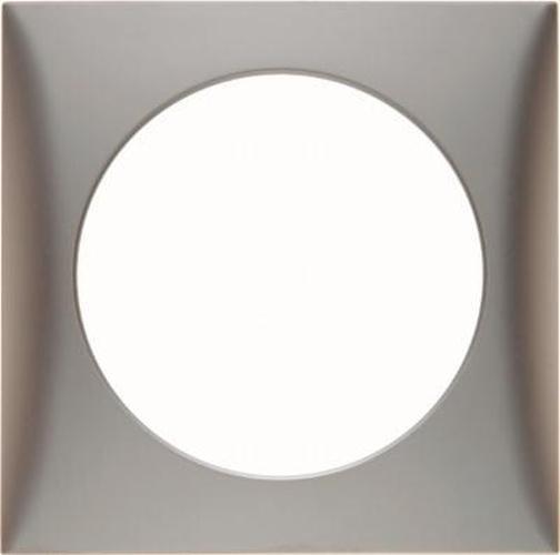 Rahmen 918272558 1Fach, Integro Flow, Chrom Matt, Lackiert