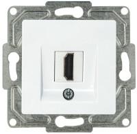 Ambiente HDMI  Anschlußdose 1 Port Reinweiß