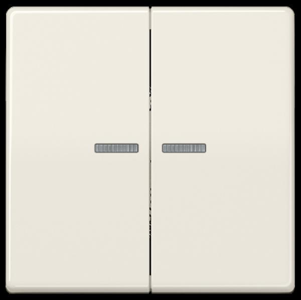 JUNG ABAS591-5KO5 Kontroll-Serien-Wippe Cremeweiß
