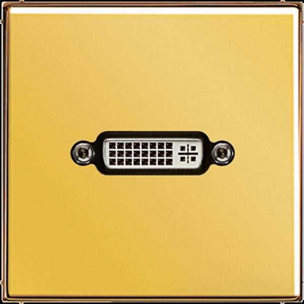 JUNG MAGO1193 DVI Goldfarben