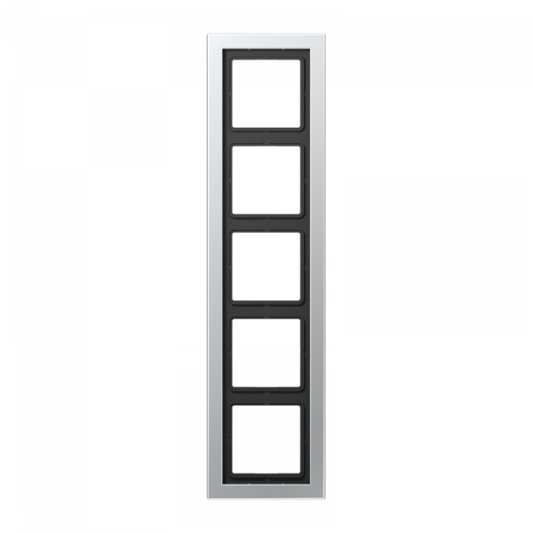 JUNG ALD2985-L Rahmen 5-Fach LS-Serie Aluminium