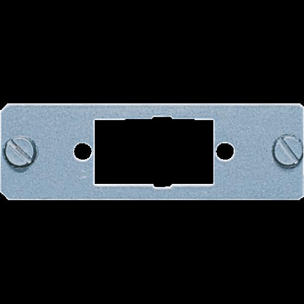 JUNG D9 Montageplatte für D-Subminiatur-Steckverbinder