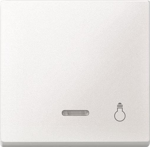 """Merten 430919 Kontroll-Wippe mit Symbol """"Licht"""" Polarweiß"""