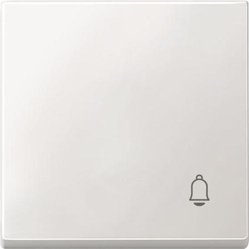 """Merten MEG3305-0419 Wippe mit Symbol """"Klingel"""" Polarweiß"""