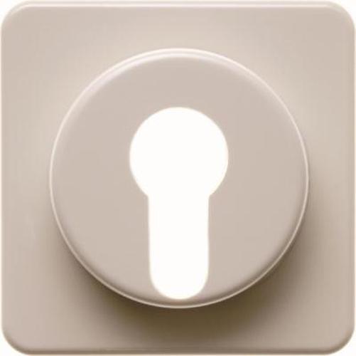 Berker 151912 Zentralstück für Schlüsselschalter/-taster wg Up IP44 Weiß, Glänzend