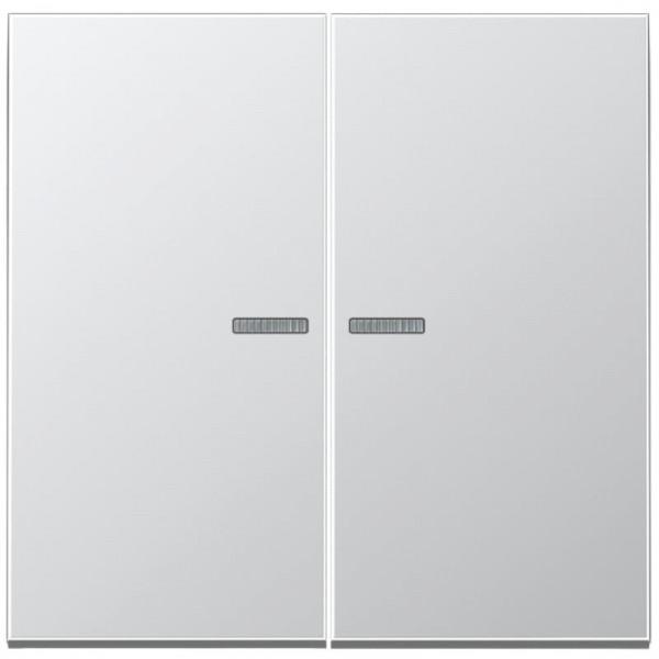 JUNG AL2995KO5 Serien-Kontroll-Wippe Aluminium