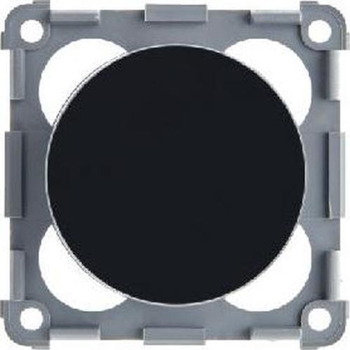 Berker 928762510 Drehdimmer 12 V= mit Regulierknopf Integro Flow/Pure Schwarz, Glänzend