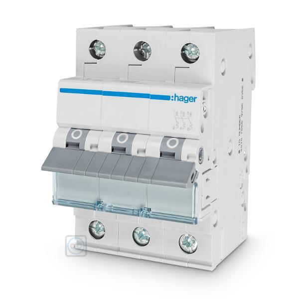 Hager MBN332 Leitungsschutzschalter 3-Polig B32A 6kA