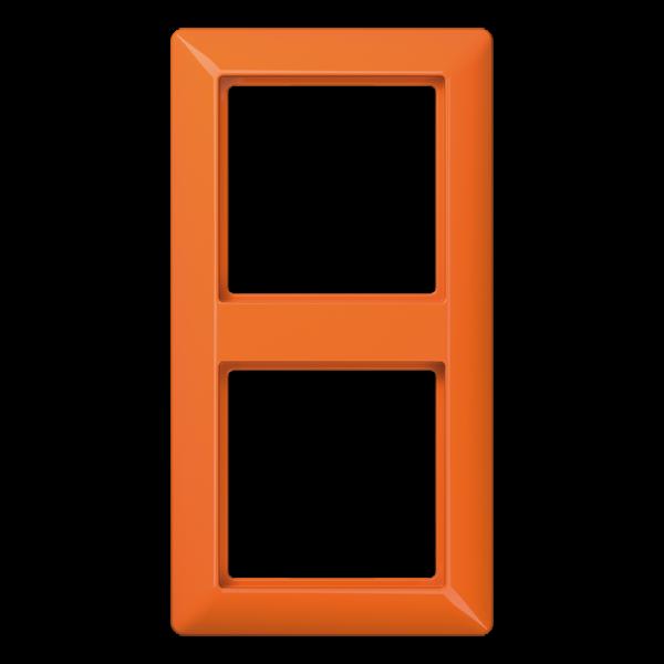 JUNG AS582BFO Rahmen 2-Fach Orange