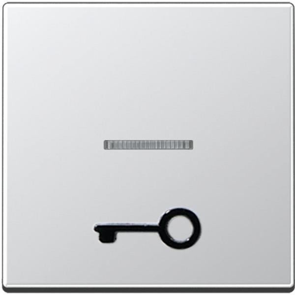 """JUNG A590T1KOAL Kontroll-Wippe mit abtastbarem Symbol """"Tür"""" Aluminium"""