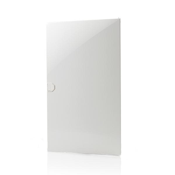 F-Tronic 7220060 Tür Kunststoff Vision, 3-Reihig, weiß