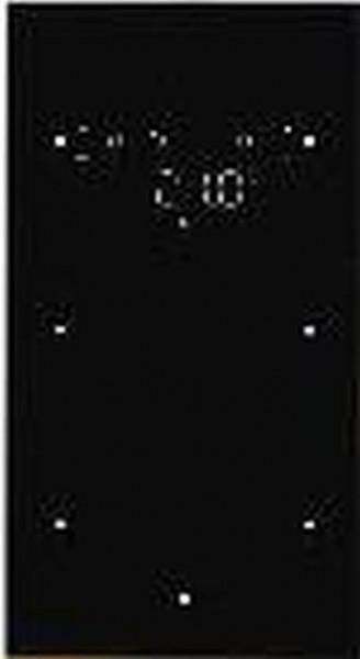 Berker 75642035 Glas-Sensor 2Fach mit Temperaturregler TS Sensor, Schwarz
