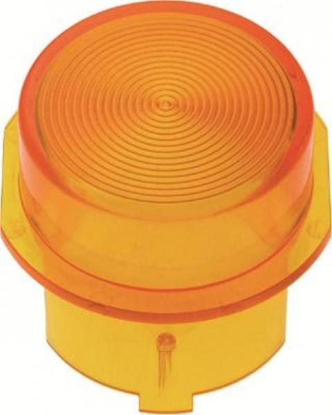 Berker 1282 Haube für Drucktaster und Lichtsignal E10 Zubehör Gelb Transparent