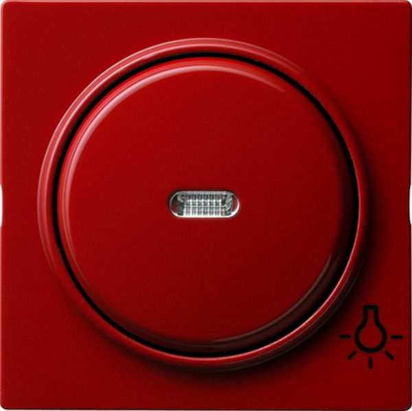 "GIRA 028543 Kontroll-Wippe mit Symbol ""Licht"" Rot"