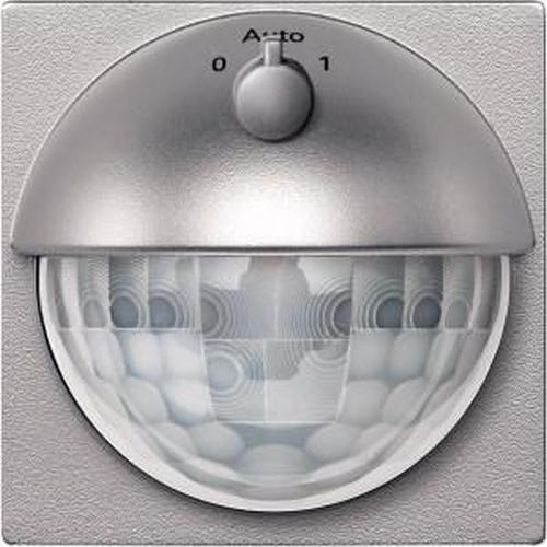 Merten MEG5711-0460 ARGUS 180 Aufsatz Bewegungsmelder mit Schalter 1,10m Aluminium