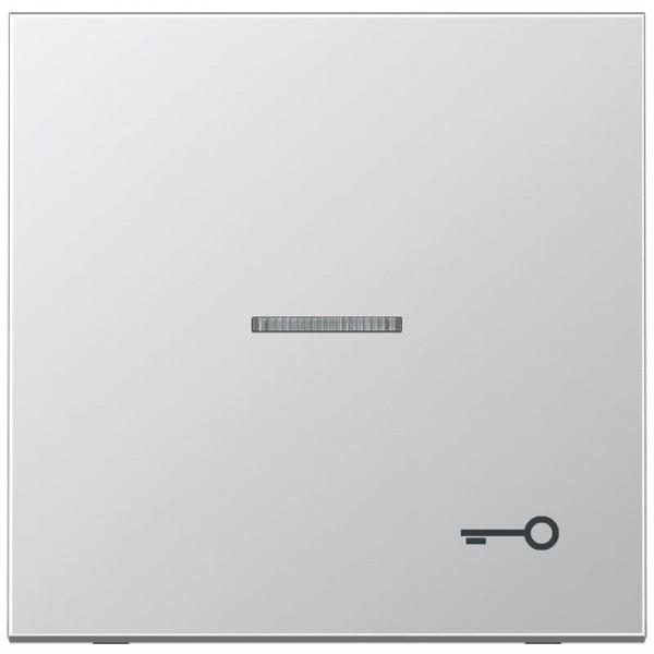 """JUNG AL2990KO5T Kontroll-Wippe mit Symbol """"Tür"""" Aluminium"""