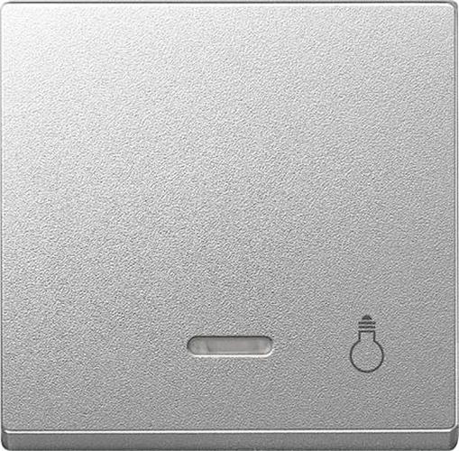 """Merten 430960 Kontroll-Wippe mit Symbol """"Licht"""" Aluminium"""