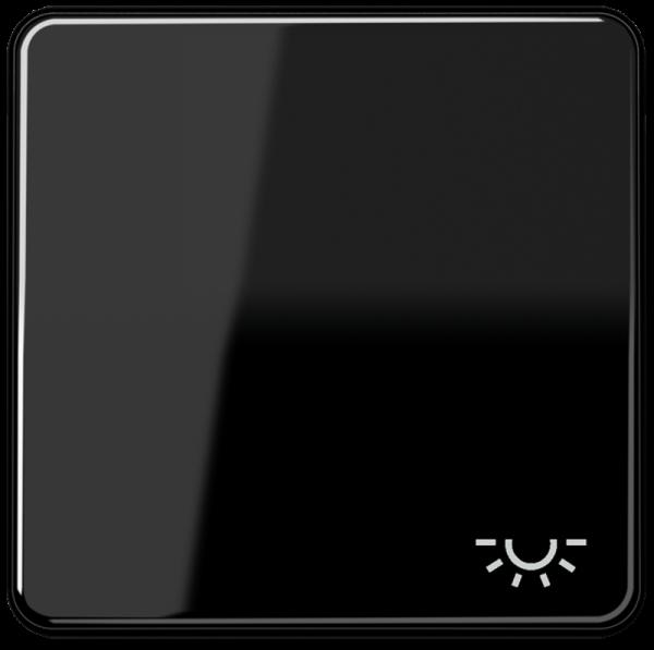 """JUNG CD590LSW Wippe mit Symbol """"Licht"""" Schwarz"""
