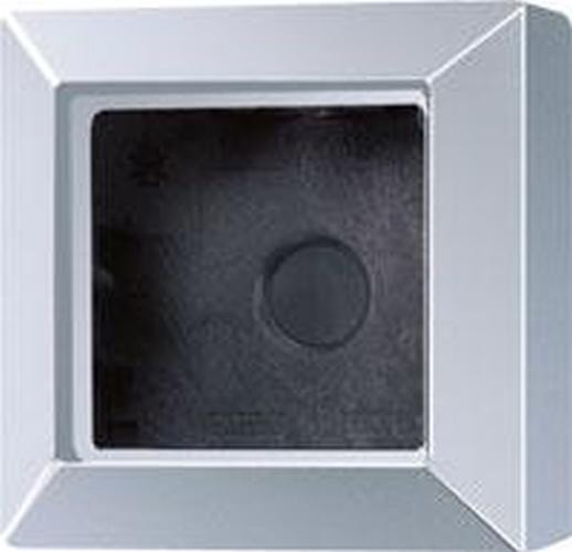 JUNG AS581AAL Aufputz-Kappe 1-Fach Aluminium
