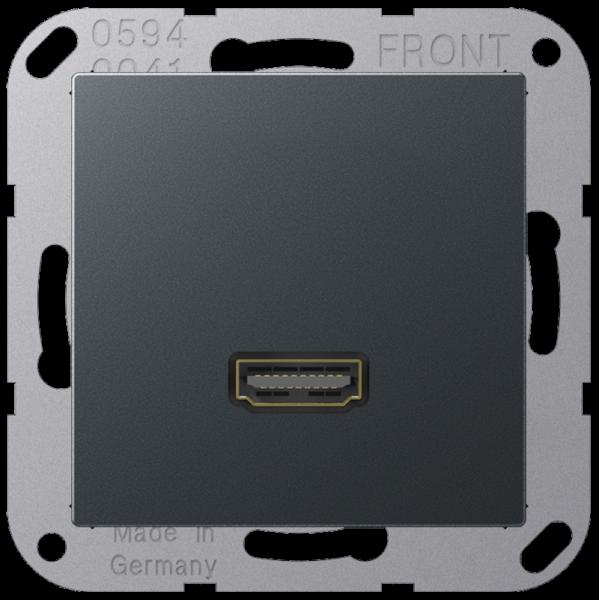 JUNG MAA1112ANM HDMI Anthrazit-Matt