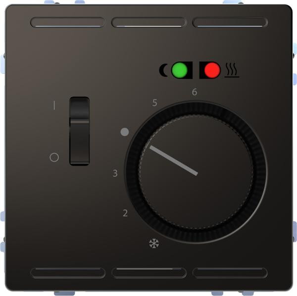 Merten MEG5764-6034 Fußbodentemperaturregler Wechsler 230V Anthrazit