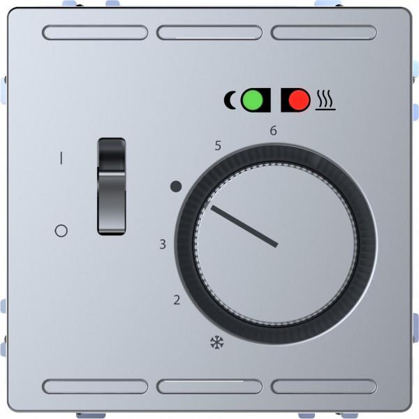 Merten MEG5764-6036 Fußbodentemperaturregler Wechsler 230V Edelstahl