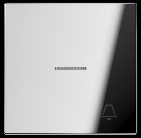 """JUNG GCR2990KO5K Kontroll-Wippe mit Symbol """"Klingel"""" Glanz-Chrom"""