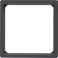 Berker 11096076 Adapterring für Zentralstück 50 x 50 mm Q.1/Q.3 Anthrazit, Samt