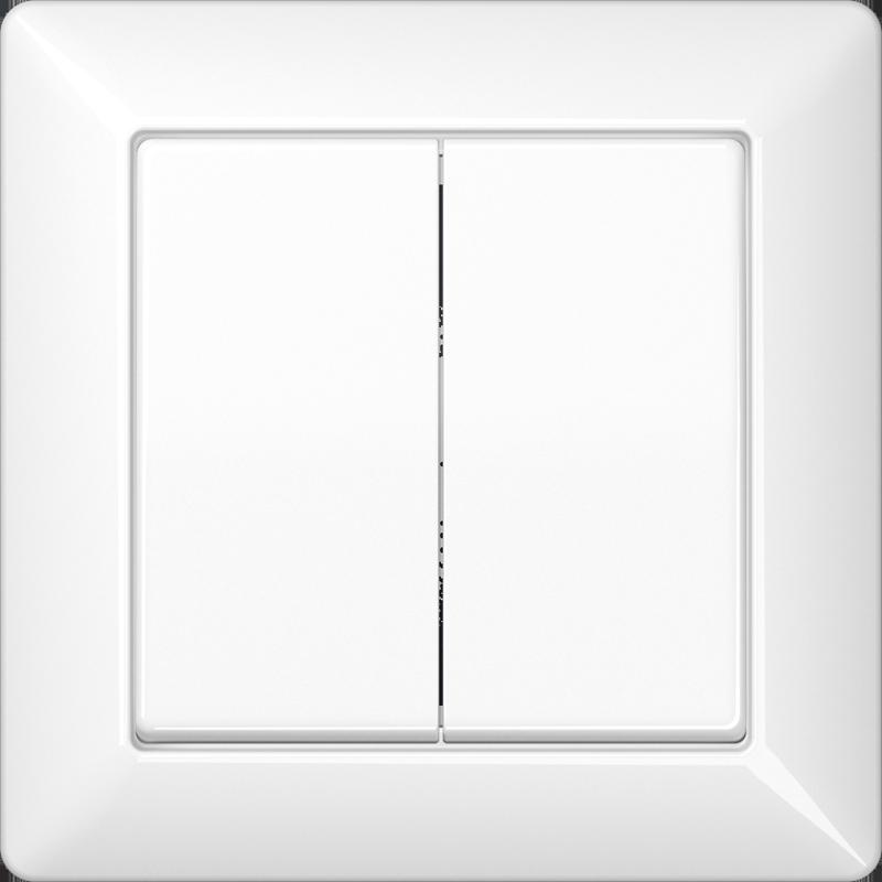 Jung AS5840NAWW Rahmen 4-Fach