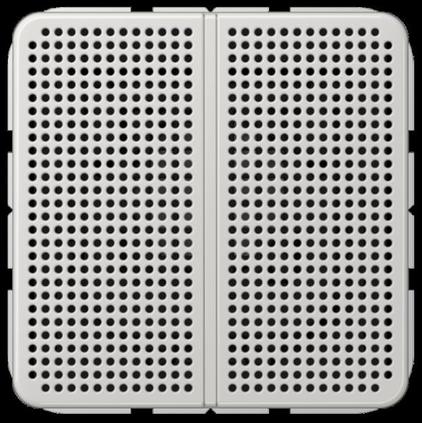 JUNG LSMCD4LG Lautsprechermodul Lichtgrau