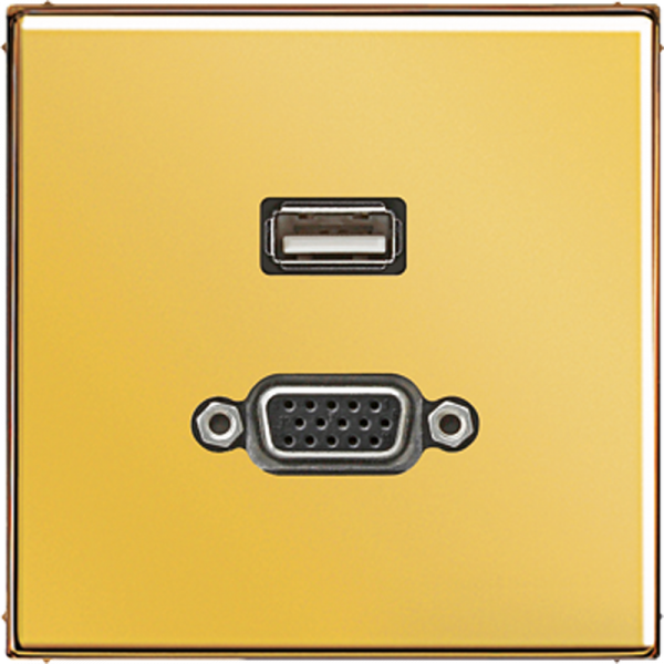 JUNG MAGO1183 USB2.0-VGA Goldfarben