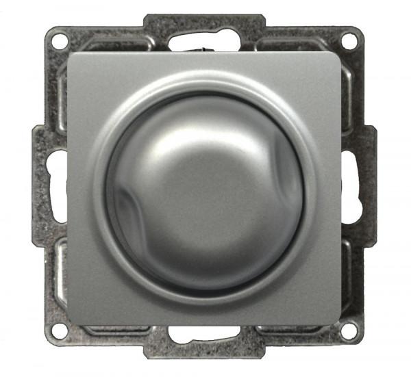 Visage Druck-Wechsel-Dimmer 60-600W Silber