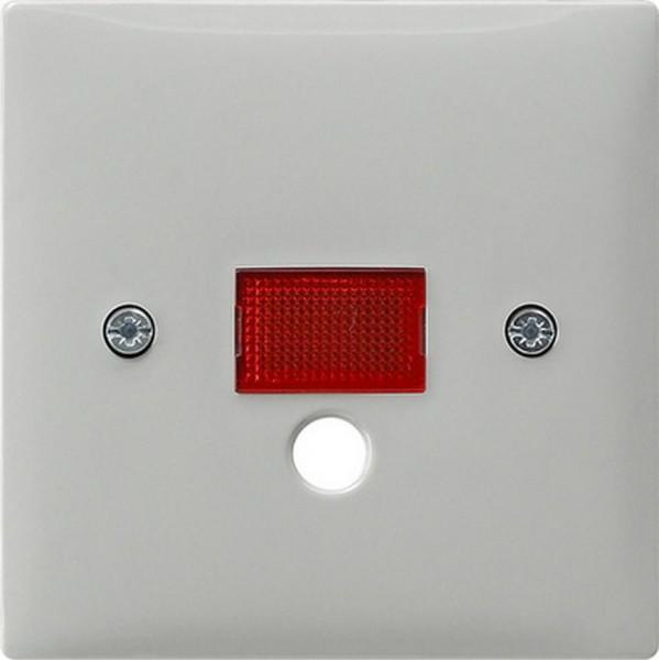 GIRA 063842 Abdeckung mit großem Kontrollfenster für Grau