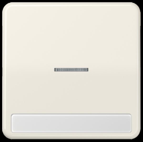 JUNG CD590NAKO5 Wippe mit Schriftfeld Cremeweiß