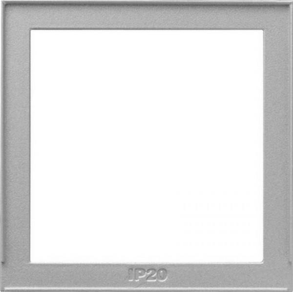 GIRA 028965 Adapterrahmen 55x55 Farbe-Alu