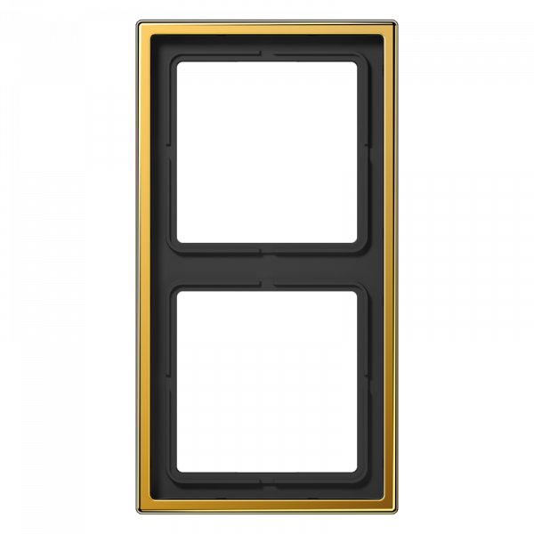 JUNG LS982GGO Rahmen 2-Fach LS-Serie Vergoldet