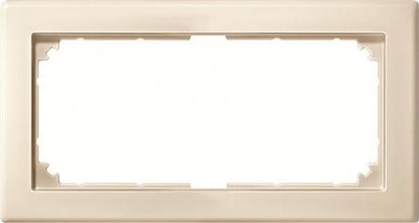 Merten 484844 Rahmen 2-Fach M-Smart ohne Mittelsteg Weiß