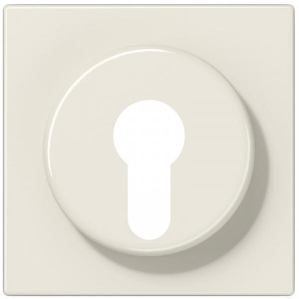 JUNG LS928 Abdeckung für Schlüsselschalter Creme-Weiß