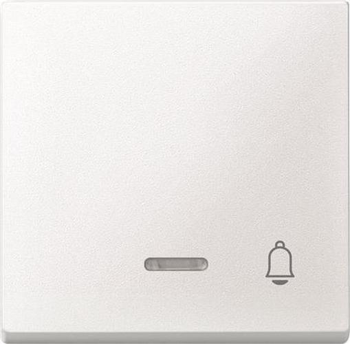 "Merten 430819 Kontroll-Wippe mit Symbol ""Klingel"" Polarweiß"