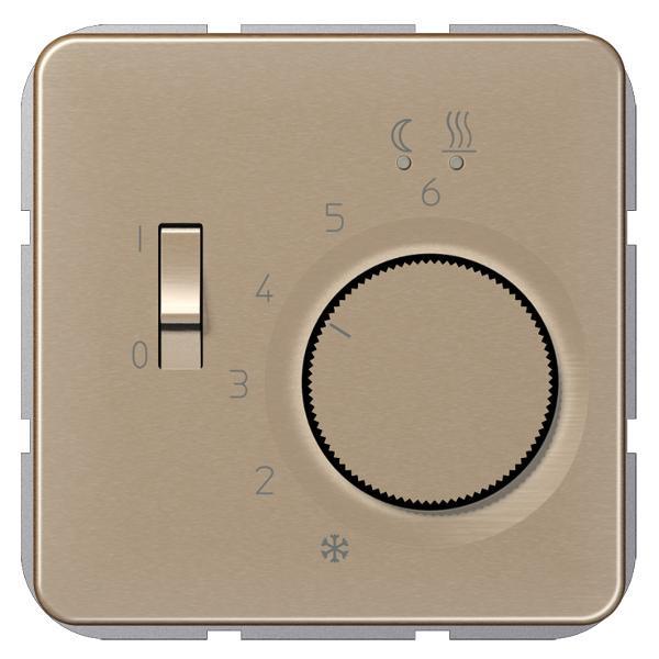 JUNG FTRCD231GB Fußbodenheizungsregler Gold-Bronze