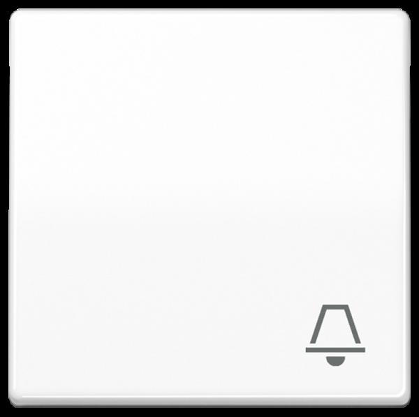 "JUNG ABAS591KWW Wippe mit Symbol ""Klingel"" Alpinweiß"