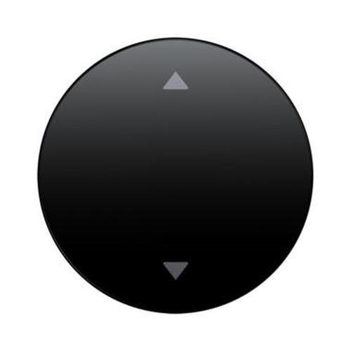 Berker 16202005 Wippe mit Aufdruck Symbol Pfeile R.1/R.3 Schwarz, Glänzend
