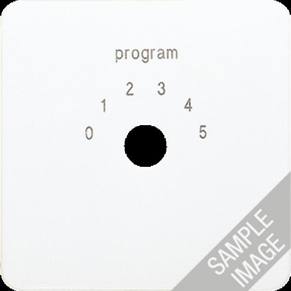 JUNG 594-9 Abdeckung Programmwahlschalter Cremeweiß