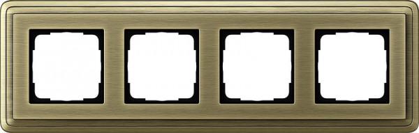 GIRA 0214621 Rahmen 4-Fach ClassicX Bronze