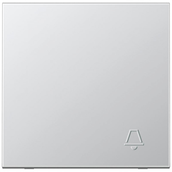 "JUNG AL2990KP Wippe mit geprägtem Symbol ""Klingel"" Aluminium"