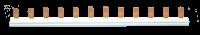 Tehnoplast 130S Phasenschiene 1-Polig Stift