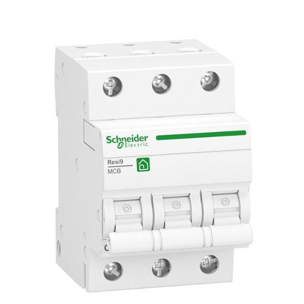 Schneider R9F23306 Leitungsschutzschalter B 6A-6kA-3 Polig-Resi9