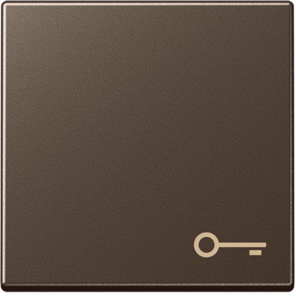 """JUNG A590TMO Wippe mit Symbol """"Tür"""" Mokka"""